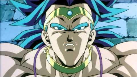 Broly transform into Legendary Super Saiyan