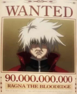 Ragna's Wanted Poster