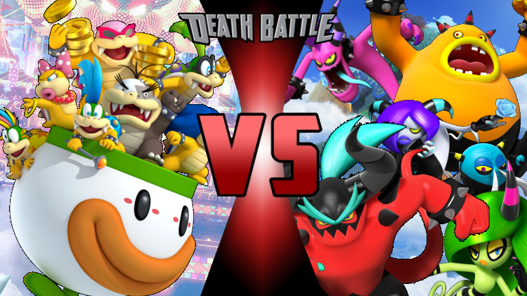 The Koopalings Vs The Deadly Six Death Battle Fanon Wiki