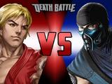 Ken Masters vs. Sub-Zero