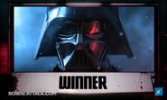 Darth Vader Winner