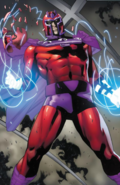 Marvel Comics - Magneto focusing on his powers