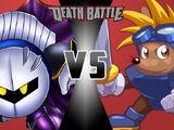 Meta Knight vs Sparkster