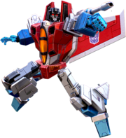 Starscream Action Fire