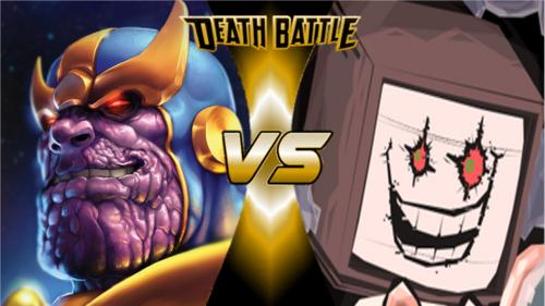 Thanos vs Flowey