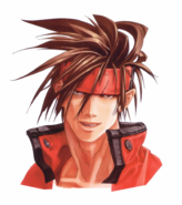Guilty Gear - Sol Badguy's close-up