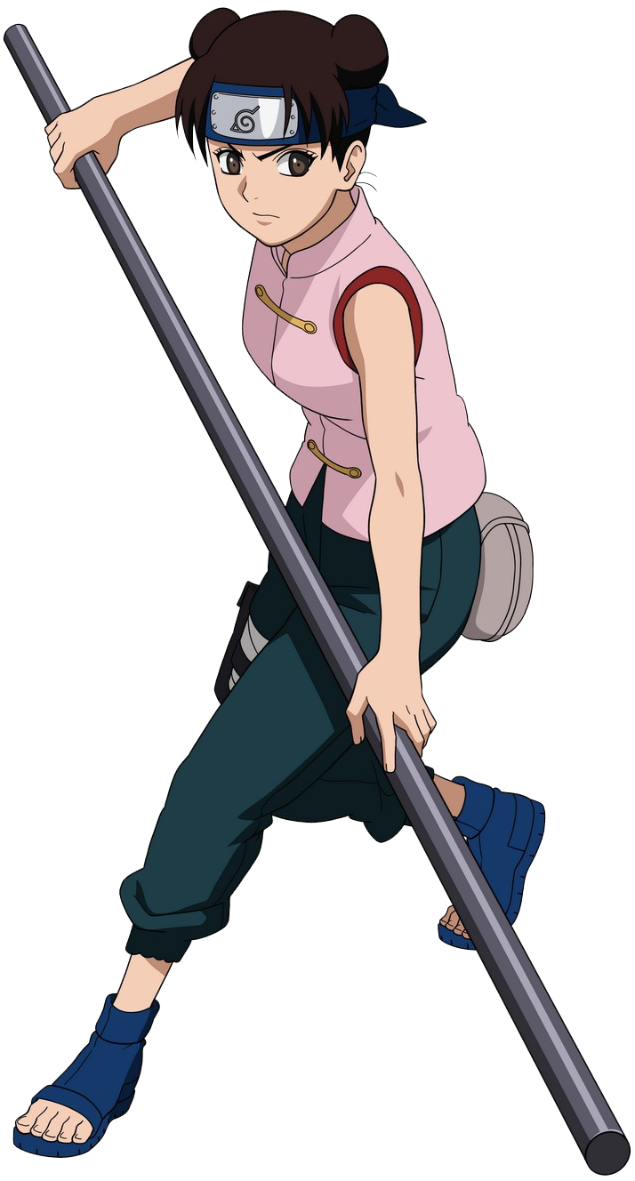 Tenten Is A Character From The Anime Manga Series Naruto