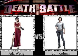 Ada Wong vs. Juli Kidman