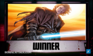 Anakin Skywalker Winner