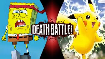 pikachu vs spongebob death battle fanon wiki fandom powered by wikia