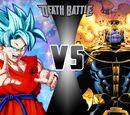 Thanos vs Goku