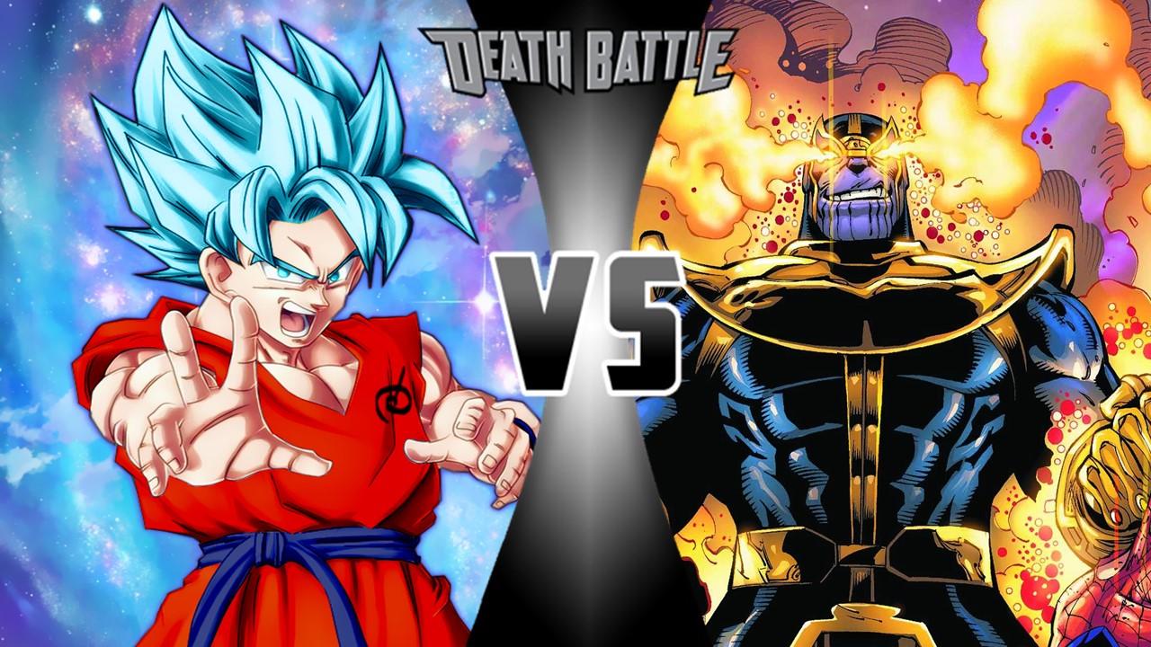 Thanos vs Goku   Death Battle Fanon Wiki   FANDOM powered by Wikia