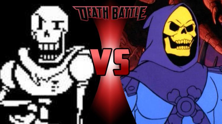 Papyrus vs Skeletor | Death Battle Fanon Wiki | FANDOM