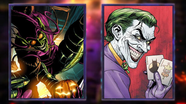 Green Goblin and The Joker are ready