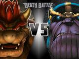Bowser vs Thanos