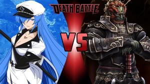 Esdeath vs Ganondorf