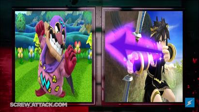 Wario vs Dark Pit intermission