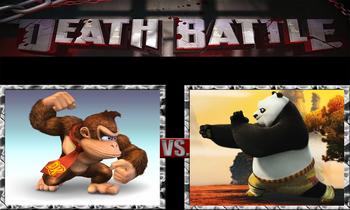 Death battle donkey kong vs po by phan2angel7-d7jjb31