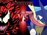 Carnage vs Ash's Greninja