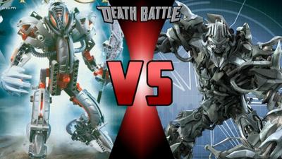 Makuta Teridax vs. Megatron