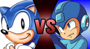 Sonic Mega Man Fake Thumbnail