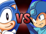 Sonic the Hedgehog vs Mega Man