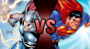 Death battle thor vs superman part 1 by the deadliest doge-d8udxlz