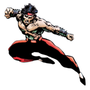 Mortal Kombat - Liu Kang's Official MKII Promo Art by Patrick Rolo