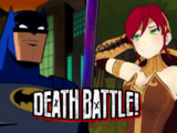Batman vs Pyrrha Nikos