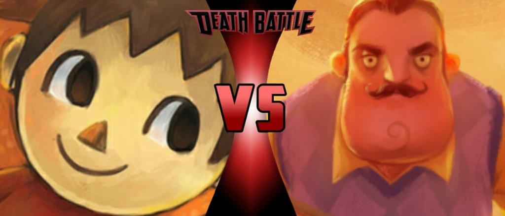 The Villager vs The Neighbor | Death Battle Fanon Wiki