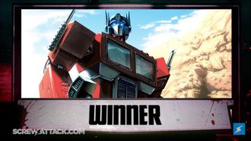 Optimus Prime Winner