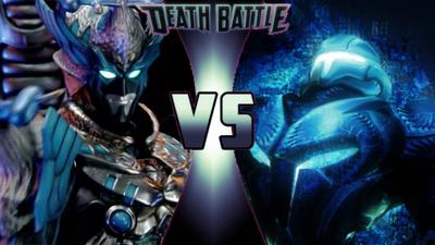 Vrak vs Dark Samus Power Rangers vs Metroid DEATH BATTLE!!!!