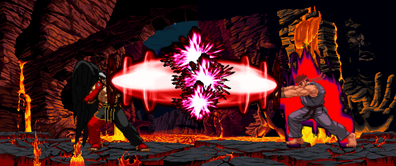 image evil ryu vs devil jin png death battle fanon wiki fandom