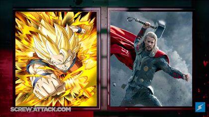 Goku vs Thor set