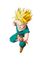 Kid trunks ssj render by luishatakeuchiha-d694em8