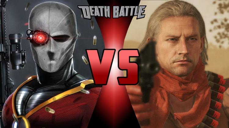 deadshot vs revolver ocelot death battle fanon wiki fandom