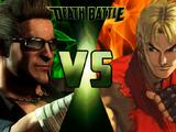 Ken Masters VS Johnny Cage