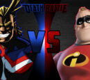 Mr. Incredible vs All Might