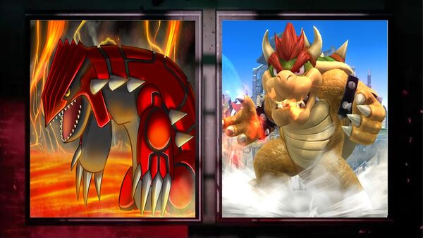 Groudon vs koopa