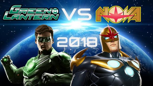 Green Lantern versus Nova