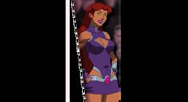 Justice League vs. Teen Titans (Starfire)