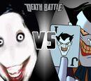 Jeff the Killer VS The Joker