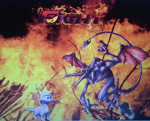 Spyro VS Ridley THE REAL FIGHT!