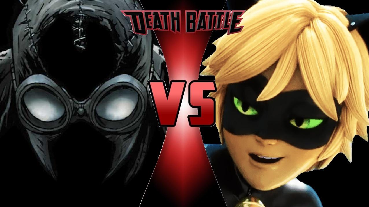 image - what-if death battle spider-man noir vs. cat noir