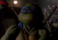 Teenage Mutant Ninja Turtles - Leonardo as he appears in the 1990s movie