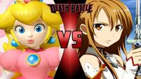 What-if Death Battle Princess Peach vs. Asuna Yuuki