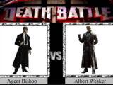 Agent Bishop vs. Albert Wesker