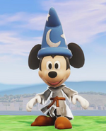 Sorcerers Apprentice Mickey in Disney Infinity 2