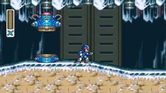 Mega Man X - Chill Penguin's Stage-1