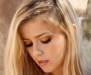 Heaven the blonde twin